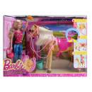 Mattel Barbie  Fütter & fun câlin dans la boîte