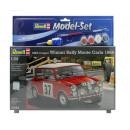 REVELL model kit Mini Cooper Rally Monte Carl