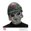 Großhandel Figuren & Skulpturen: Maske -Army Skull-  Totenkopf im Militärstyle
