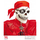 Maschera teschio / pirata con bandana