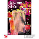 Cocktail stick, Willy, 10 pieces in pack - ca 11c