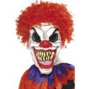 wholesale Toys: Clown Mask Latex with Hair
