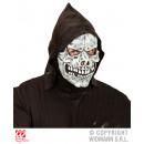 Großhandel Puppen & Plüsch: Maske Totenkopfmaske mit Kapuze