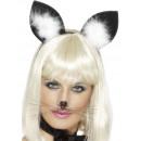 Headband with cat ears