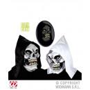 Großhandel Puppen & Plüsch: Maske Kapuzen Schädelmaske 2-fach sortiert