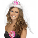 Crown, Bride To Be, with veil
