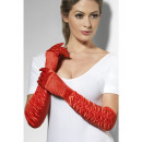wholesale Toys:Gloves frilled long red