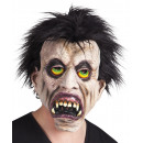 wholesale Toys: Vampire mask with hair - made of latex