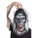 wholesale Toys: Gorilla mask with fur - Latex