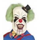 wholesale Toys: Mask Horror Clown Latex Hair