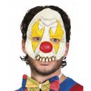 Mask Half Mask Latex Clown