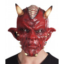 Devil mask made of latex