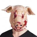 mayorista Juguetes: Máscara de látex con sangre de cerdo
