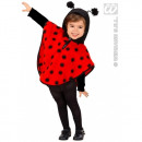 Costume - Cape ladybird f children (height approx
