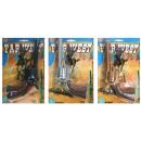 wholesale Toys: Pistol - Cowboy 8  shot pistol - just black -