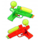 Water pistol 2-fold assorted ca 17 cm