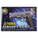 Ball gun max 0.5 Joule ca 17 cm