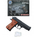 Ball gun metal max 0,5 Joule with Magazine - ca