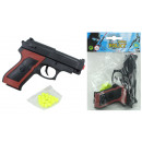 Ball pistol with magazine max 0,08 Joule ca 12 cm