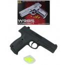 pistola sfera max 0,5 Joule circa 13,5 centimetri