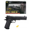 Ball pistol with  magazine max 0.49 Joule - about 2