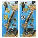 Piratenpistole con accessori ca 29 cm