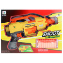 wholesale Toys: Softair Shooter with 20 softpacks in box approx. 4