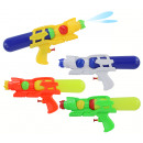 wholesale Outdoor Toys: Water gun 4- times assorted with tank about 28 cm