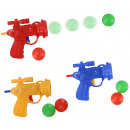 wholesale Toys: Ball pistol with 2 balls, 3 times assorted , in th