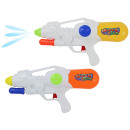 Water pistol 2-colored assorted - with pumping fun