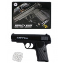 Ball pistol METAL max 0.50 Joule - approx 16.5cm