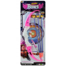wholesale Outdoor Toys: Bow and arrow with 3 long arrows on the map about