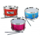 wholesale Music Instruments: Drum with 2 sticks about 15 x 8,5 cm