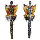 Sword in sheath 2 assorted approx 54cm