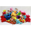 Throwing items Stuffed sort -Mind 150 pcs
