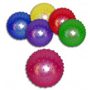 Großhandel Geschenkartikel & Papeterie: Stachelball Massageball ca 20 cm farbig sortiert