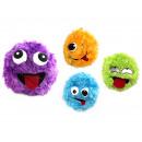 Fuzzy Ball naargelang met pluche huls 4 kleuren