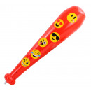 Inflatable club Smily approx. 60 cm