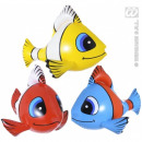 wholesale Dolls &Plush: Fish - inflatable tropical fish 3- times assorted