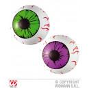 Großhandel Scherzartikel: Auge aufblasbares Auge ca 25 cm