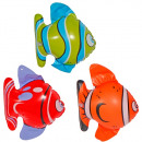 wholesale Aquatics: Fish 3 times  assorted inflatable - ca 20cm