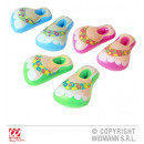 Beach sandals  assorted 3-fold - inflatable - ca 5