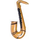 Großhandel Musikinstrumente: Saxophon gold aufblasbar ca 54cm