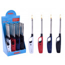 wholesale Lighters: Lighter - lighter  4 times assorted - ca 27c