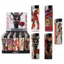 groothandel Aanstekers: Lighter Hot Love  van 5-voudig - ca. 8cm