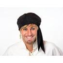 Großhandel Tücher & Schals: Bandana-Kopftuch, schwarz