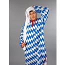 Großhandel Sportbekleidung: Trikot-Zipfelmütze superlang, ca. 100 cm, weiß
