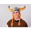 wholesale Toys: Adult Viking hat with braids