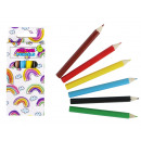 wholesale Pencils & Writing Instruments: Crayons 6 pieces about 9 cm