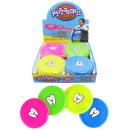 Großhandel Outdoor-Spielzeug: Frisbee 4-fach sortiert mini mit Zahnmotiv - ca 10